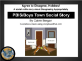 PBIS/Boys Town Disagree Appropriately Social Story