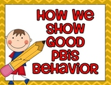 PBIS Brainstorming Posters {Color and Black/White!}