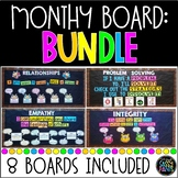 PBIS Bulletin Boards Bundle | Character Education | School
