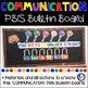 Communication PBIS Bulletin Board