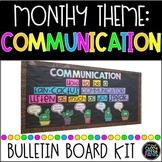 Communication Bulletin Board | PBIS Bulletin Board | Character Education