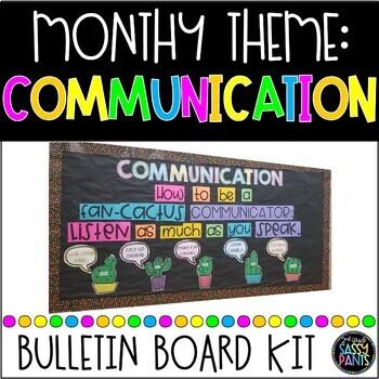 PBIS Bulletin Board: Communication