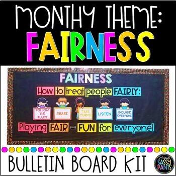 Fairness PBIS Bulletin Board