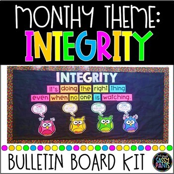 Integrity PBIS Bulletin Board