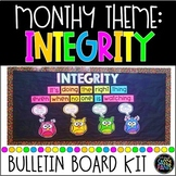 Integrity Bulletin Board | PBIS Bulletin Board | Integrity | Character Education