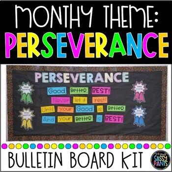 Perseverance PBIS Bulletin Board