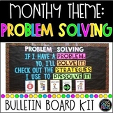 Problem Solving Bulletin Board | PBIS Bulletin Board | Character Education