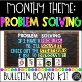 Problem Solving Bulletin Board | PBIS Bulletin Board | Character Education