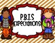 PBIS Camping Theme School Expectation Posters