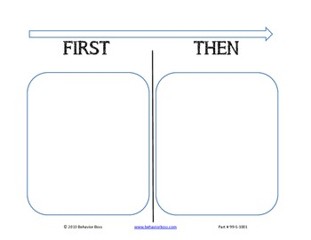 PBIS Chart- First_Then- for Individual Student