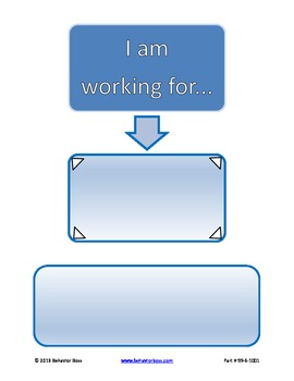 PBIS Chart- I am Working for- for Individual Student