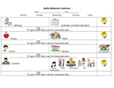 PBIS Check In Check Out Behavior Plan