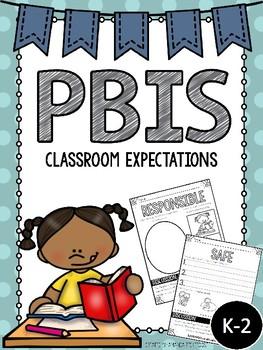 PBIS Classroom Expectations Freebie