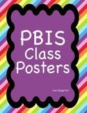 PBIS Classroom Posters