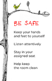 PBIS Classroom Rule - Be Safe