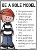 Editable PBIS Classroom Rules Poster Pack