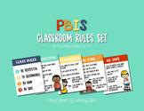 PBIS Classroom Rules Set