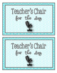 PBIS Classroom and School Reward Coupons