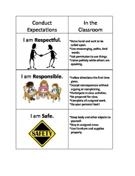 PBIS Code of Conduct Poster