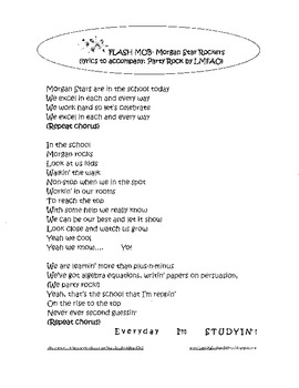PBIS Flash Mob- Party Rock Lyrics for School