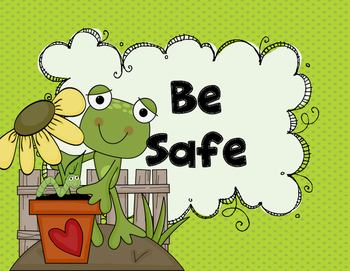PBIS Frog Posters {Polka Dots}