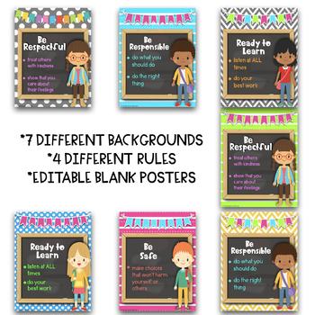 PBIS Kid Theme Posters