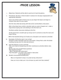 PBIS Lesson Plan- Out of Seat Behaviors