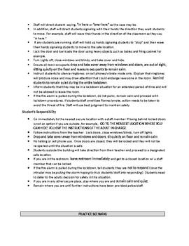 PBIS Lesson Plans for Behaviors Bundle