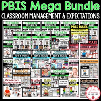 PBIS Growing MEGA Bundle {for Classroom Management & Expectations}
