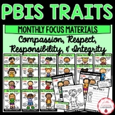 PBIS Monthly Traits {Compassion & Respect and Responsibility & Integrity}