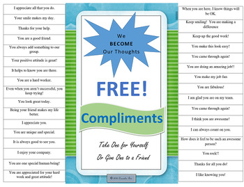 PBIS Morale Lifter Positive Affirmations Staff or Students