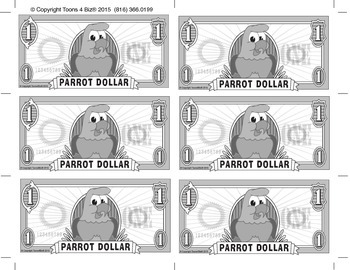 PBIS Parrot Rewards