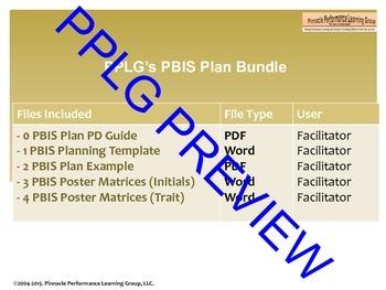 PBIS Plan Bundle