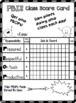 PBIS Point Tracker Cards - EDITABLE