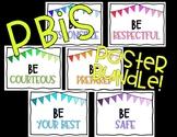 PBIS Positive Behavior Poster Bundle