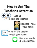PBIS Poster Behavior Management: How To Get The Teacher's