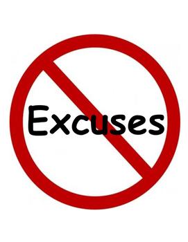 PBIS Poster Behavior Management: No Excuses!