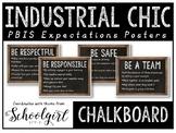 PBIS Posters - Chalkboard