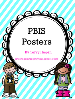 PBIS Posters & Classroom Rules