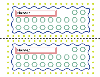PBIS Punch Card