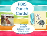 PBIS Punch Cards