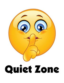 PBIS Quiet Zone Poster