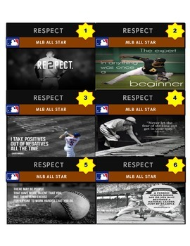 PBIS RESPECT GAME CARDS