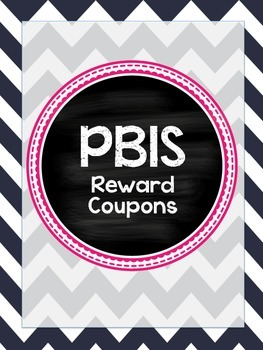 PBIS Reward Coupons