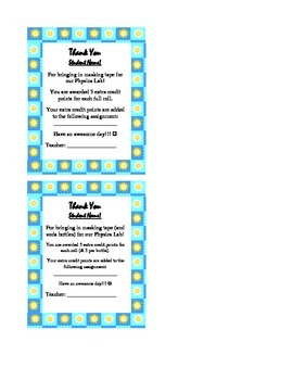 PBIS Reward Coupons and Passes Package