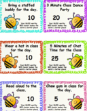 PBIS | Rewards and Coupons for Positive Classroom Management | Bee Themed