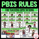 PBIS Rules Posters and Printables {for teaching expectations}