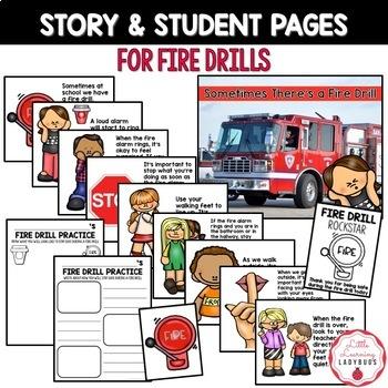 Fire Drill Safety Worksheets For Kindergarten