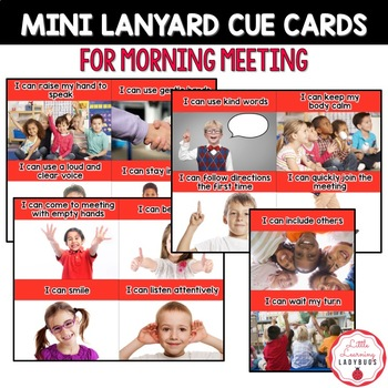 PBIS Rules Posters and Printables {for teaching expectations of Morning Meeting}
