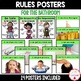 PBIS Rules Posters and Printables {for teaching expectations of the bathroom}